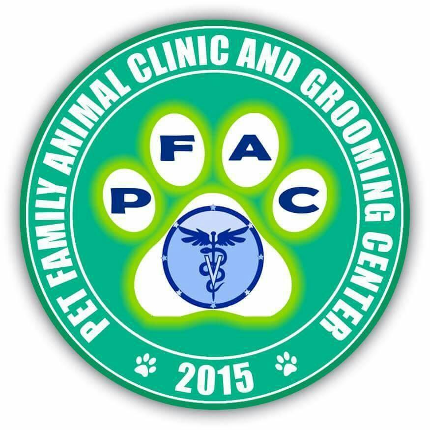 Pet Family Animal Clinic Logo
