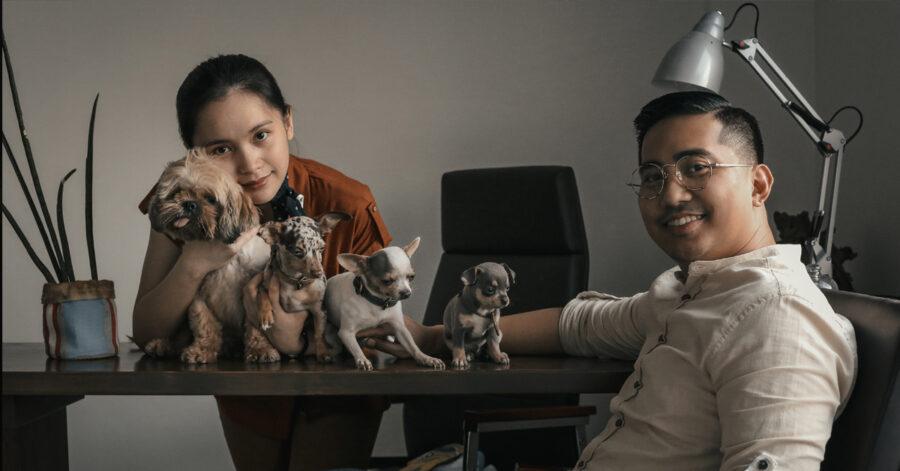 Pet parents of Pawdel